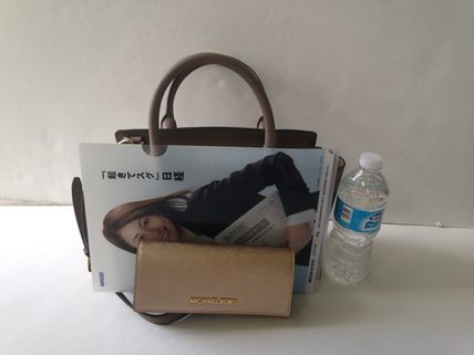 Michael Kors ハンドバッグ 【超お買い得】Michael Kors★Selma Medium Satchel 2way*即発!(10)