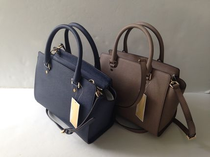 Michael Kors ハンドバッグ 【超お買い得】Michael Kors★Selma Medium Satchel 2way*即発!(3)