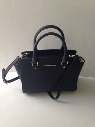 Michael Kors ハンドバッグ 【超お買い得】Michael Kors★Selma Medium Satchel 2way*即発!(5)