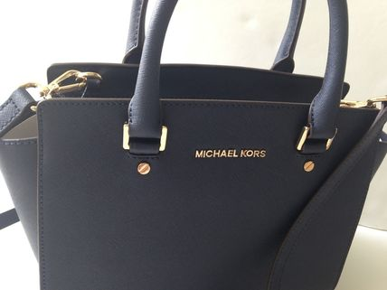 Michael Kors ハンドバッグ 【超お買い得】Michael Kors★Selma Medium Satchel 2way*即発!(6)