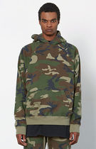 FW16 FOG FEAR OF GOD CAMO PULLOVER HOODIE カモ 送料無料
