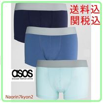 ASOS(エイソス) ブリーフ ASOS☆ボクサーブリーフHipsters In Blue 3 Pack SAVE 20%