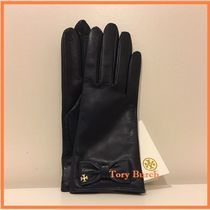 Tory Burch  LEATHER BOW GLOVE♪