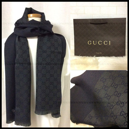 The next day wearing GUCCI elegance GG scarf / scarf *