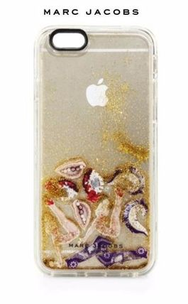 MARC JACOBS スマホケース・テックアクセサリー ☆MARC JACOBS ☆ Embellished Clear iPhone 6S ケース