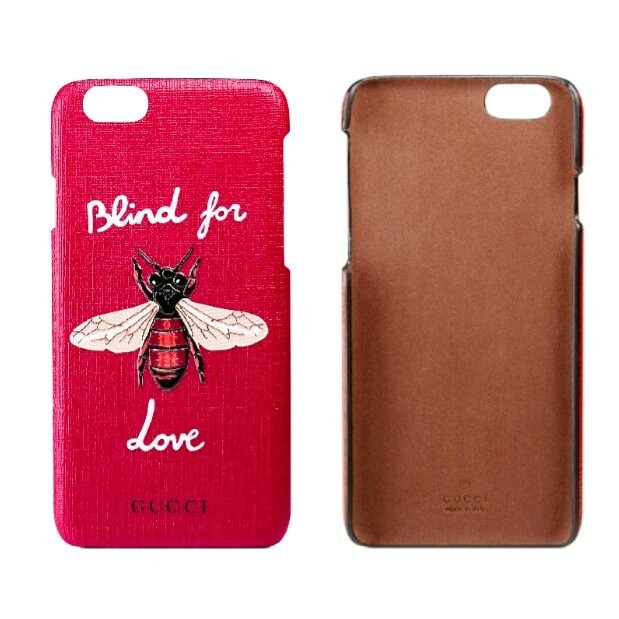大人気★Blind 4 Love【ベル発/送料込・GUCCI】iphone6 BEE★Red