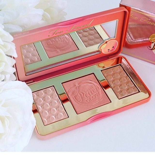 Too Faced☆Sweet Peach Glow☆ピーチ☆ハイライターパレット
