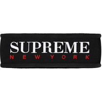 16A/W Supreme Fleece Headband Black