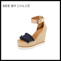 ♪新作♪ ☆see by Chloe★Wedge Espadrilles 送料関税込