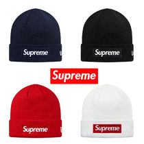 16AW Supreme New Era  Box Logo Beanie Knit Cap ニット 送料込