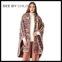 ♪新作♪ ☆see by Chloe★Boho Cape Coat 送料関税込