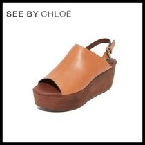 ♪新作♪ ☆see by Chloe★Lilly Flatform Sandals 送料関税込