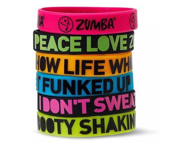 【即納 手元あり】Zumba Express Yourself Bracelets 6pk