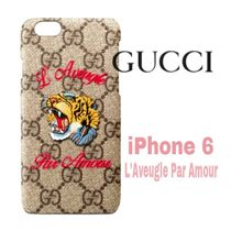 大人気★Blind 4 Love【送料込・GUCCI】iphone 6 虎★GG Supreme