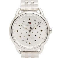 TOMMY HILFIGER SILVER STAR BRACELET WATCH