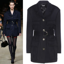 MM018 LOOK14 BELTED MILITARY JACKET