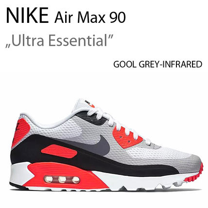 NIKE AIR MAX 90 ULTRA ESSENTIAL GOOL GREY INFRARED ナイキ