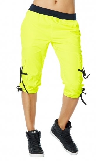 【即納 M】ZUMBA ズンバ Oh So Soft Stretch Cargo Capris
