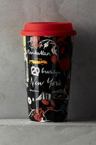 即納★Anthropologie【アンソロポロジー】Travel Mugs  New York