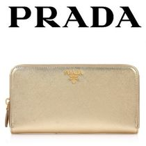 PRADA_正規品『 1ML506 QWA F0522 SAFFIANO ZIP 長財布 』