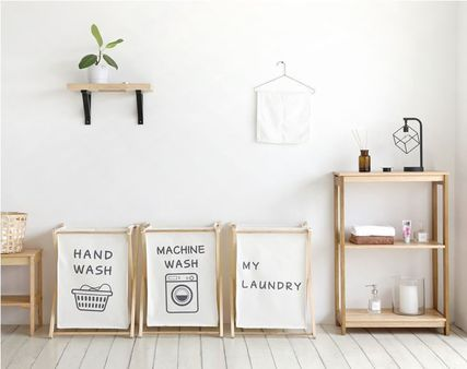 Stylish laundry basket washing basket dressing basket