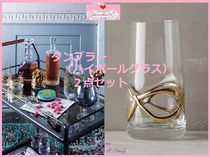 17SS*最安値☆関送込【Anthro】Glimmer Wrapped Tumbler 2点SET