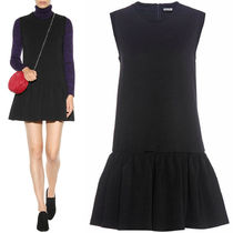 MM030 STRETCH JERSEY SLEEVELESS MINI DRESS
