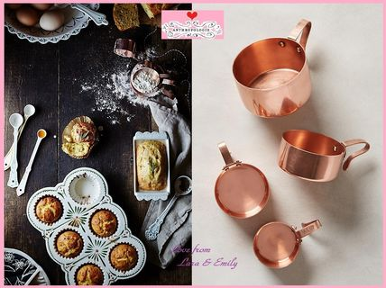 17th SS & Anthro Russet Measuring Cups