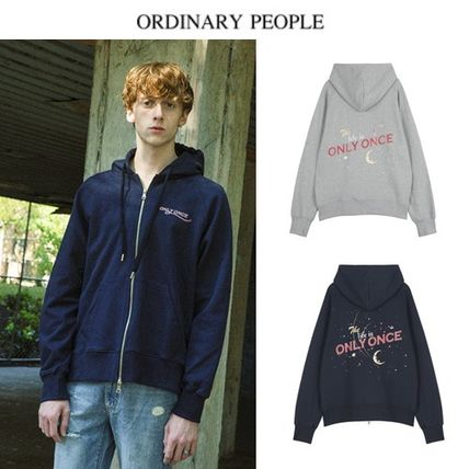 (ORDINARY PEOPLE正規品) ORDINARY ONLY ONCE HOOD ZIP-UP 2色