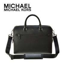 大人気☆Michael Kors☆HARRISON  2wayブリーフケースM  BLACK♪