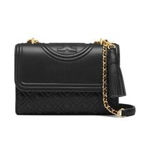 【 Tory Burch 】FLEMING SMALL CONVERTIBLE SHOULDER BAG 黒