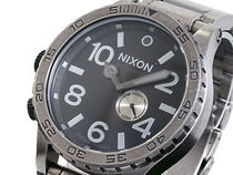 NIXON ニクソン 腕時計 51-30 ANTIQUE SILVER/BLACK A057-479
