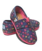 TOMS(トムス) キッズシューズ・靴その他 ★TOMS Tiny Classic Glitter Stars★