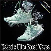 ★【adidas】入手困難!!Naked x Ultra Boost Waves ライトアクア