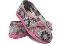 ★TOMS Tiny Classic Pink Blanket★
