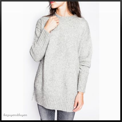 <大人気>R13★Heather Grey Oversize Pullover