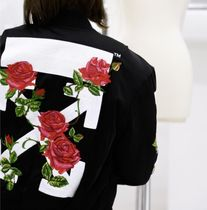 ☆ Off-White  ROSES BOMBER JACKET