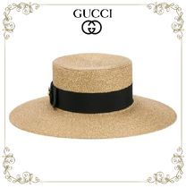 【17SS】★GUCCI★ラメ ボーターハット
