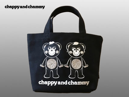 CHAPPY AND CHAMMY スワロフスキーミニトートバッグ