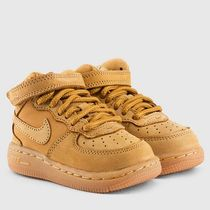 送料込み★キッズサイズ★Nike Air Force 1 Mid Flax Toddler