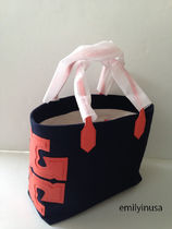 SALE! TORY BURCH★CANVAS STACKED TOTE A4ファイル収納