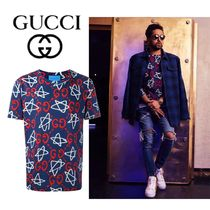 GUCCI Gucci Ghost T-SHIRT STAR ALL OVER