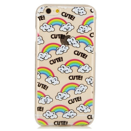 即日発送 skinnydip IPHONE 6 6S GOOGLY RAINBOW CASE