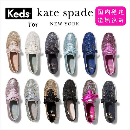 KEDS collaboration GLITTER SNEAKERS sale