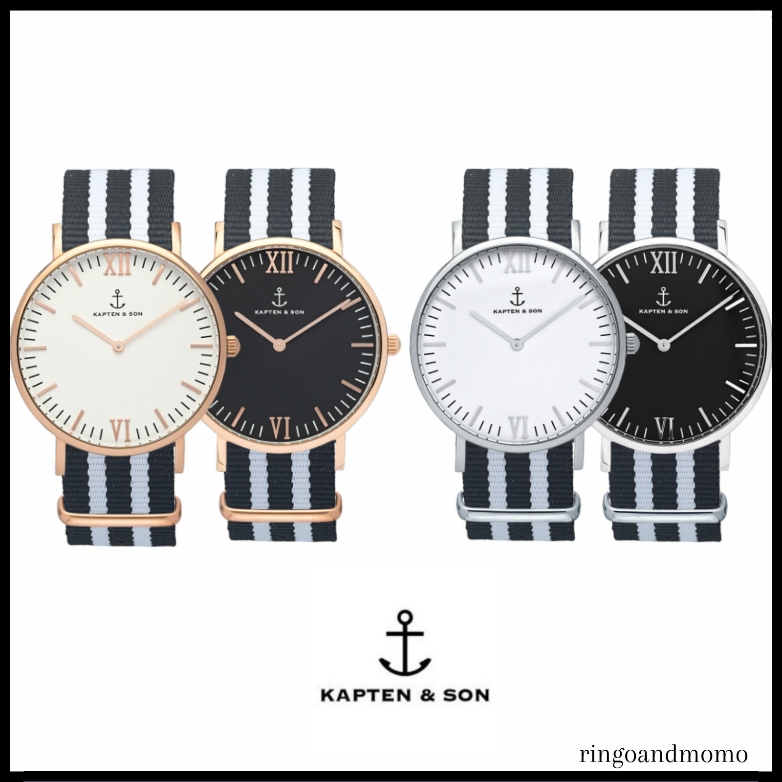 "ドイツ★Kapten & Son ★ ""Night Rider"" Campus40mm/Campina36mm"