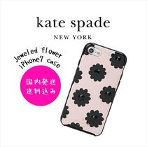 【国内発送】jeweled flower iPhone7 caseセール