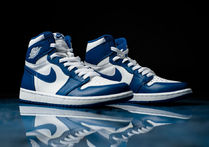 完売必至☆入手困難☆AIR JORDAN 1 RETRO HIGH OG 'STORM BLUE'