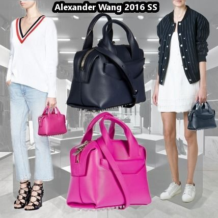 VIP material limited AlexanderWang 2016SS ROGUE LEATHER BAG