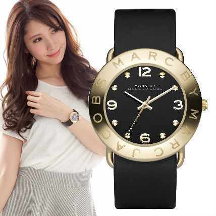 Marc by Marc Jacobs watches black gold MBM1154