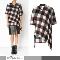 SALE★【3.1 Phillip Lim】Asymmetrical チェックシャツ♪